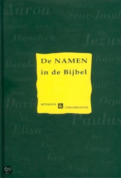 De namen in de bijbel
